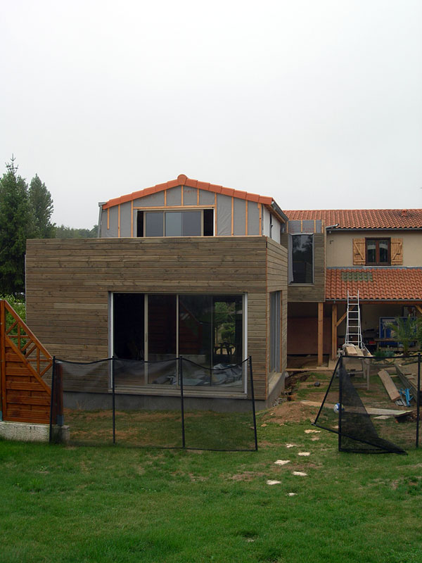 Extension Habitation Extension Maison Extension Immeuble Chasseneuil Du Poitou Vienne 86