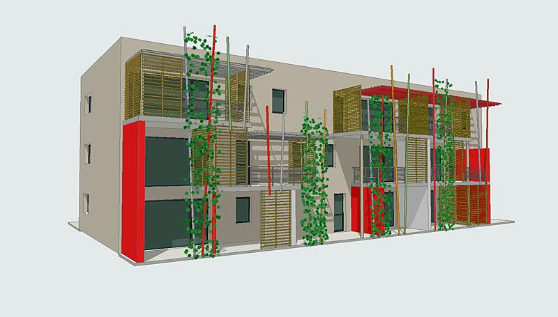 Architecte maison logements construction maison pr s de for Habitat de la vienne poitiers