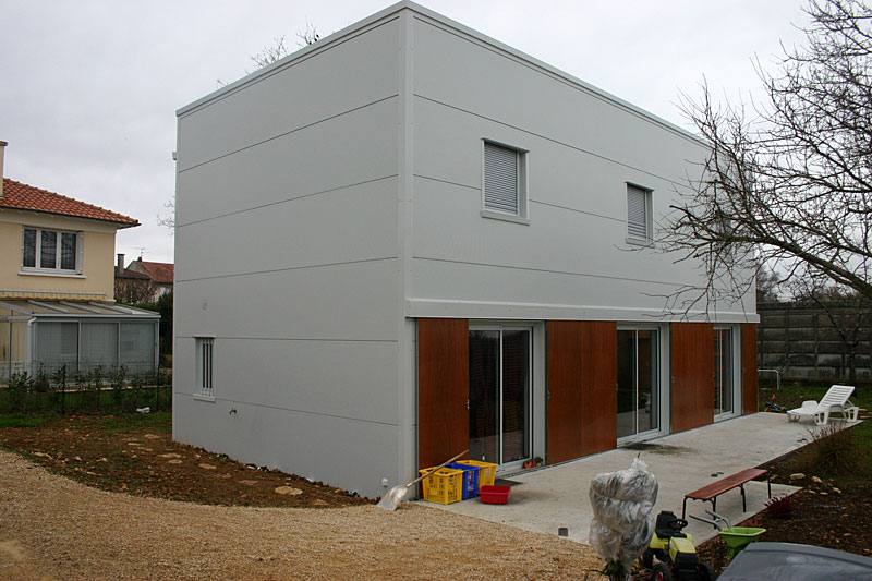 maison ossature metal. perfect moins duentretien with maison ... - Construction Maison Metallique Particulier